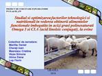 PROIECT DE CERCETARE EXPLORATORIE PN II cod ID_679