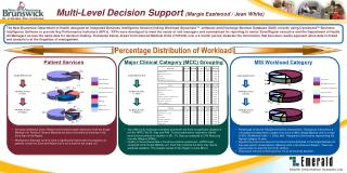 Multi-Level Decision Support (Margie Eastwood / Jean White)