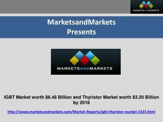 IGBT and Thyristor Market