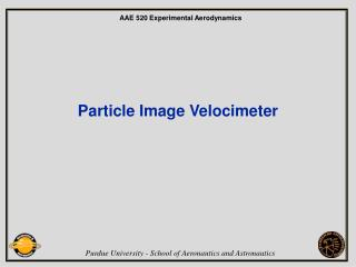 Particle Image Velocimeter
