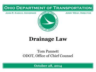 Drainage Law