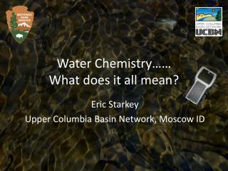 Water Chemistry   What does it all mean