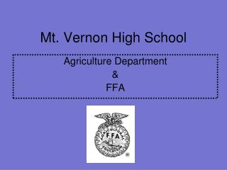 Mt. Vernon High School