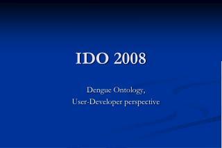 IDO 2008