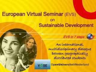 European Virtual Seminar (EVS) on Sustainable Development