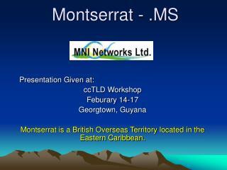 Montserrat - .MS