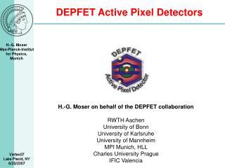 DEPFET Active Pixel Detectors