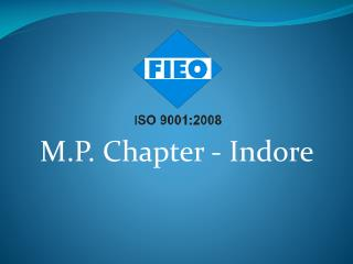 M.P.  Chapter - Indore
