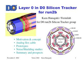 Layer 0 in D0 Silicon Tracker for run2b