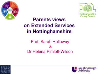 Parents views on Extended Services in Nottinghamshire