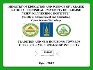 MINISTRY OF EDUCATION AND SCIENCE OF UKRAINE NATIONAL TECHNICAL UNIVERSITY OF UKRAINE