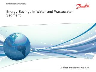 Energy Savings in Water and Wastewater Segment