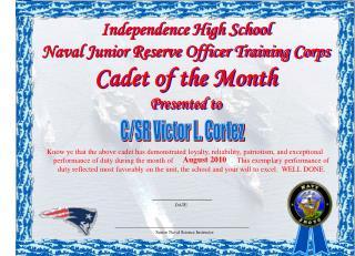 C/SR Victor L. Cortez