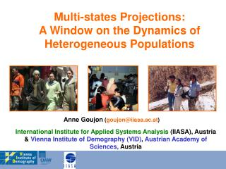 Multi-states Projections:  A Window on the Dynamics of Heterogeneous Populations