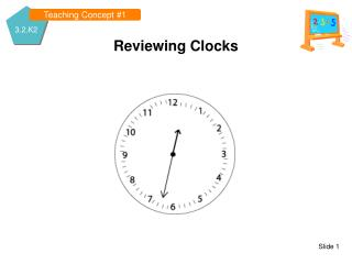 Reviewing Clocks