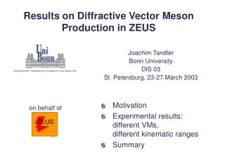 Results on Diffractive Vector Meson Production in ZEUS