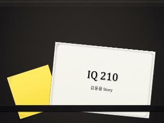 IQ 210