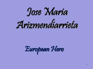 Jose Maria Arizmendiarrieta