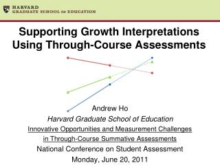 Supporting Growth Interpretations Using Through-Course Assessments