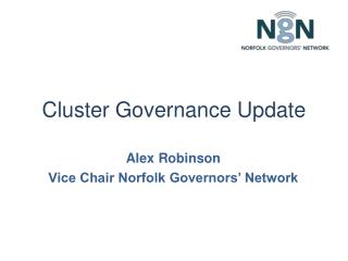 Cluster Governance Update