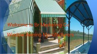 Window Awning Manufacturer Noida