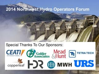 2014 Northwest Hydro Operators Forum