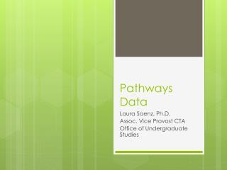 Pathways Data