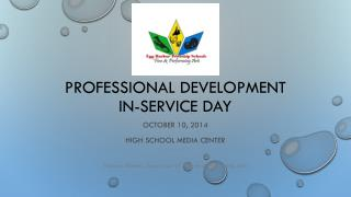 Professional  Development In-service Day