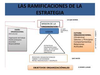 LAS RAMIFICACIONES DE LA ESTRATEGIA