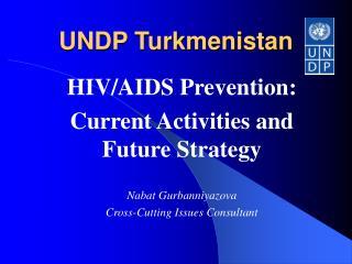 UNDP Turkmenistan