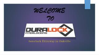 Newest Interlock Driveway in Oakville
