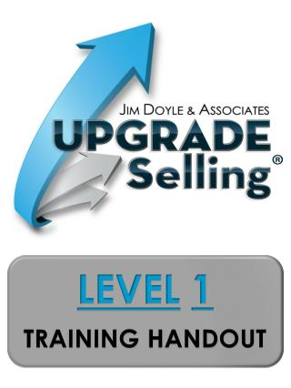 LEVEL 1 TRAINING  HANDOUT