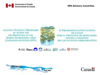 Presentation on Canada's National Programme of Action:  Development Process and  Lessons Learned