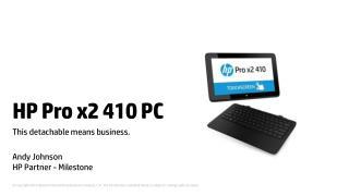HP  Pro x2 410 PC