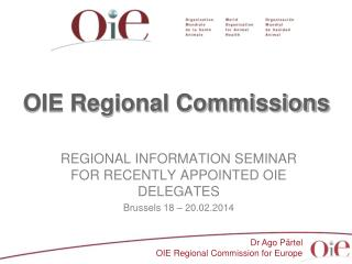OIE Regional Commissions