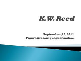K.W. Reed