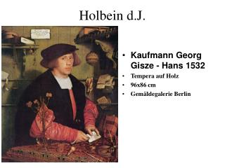 Holbein d.J.