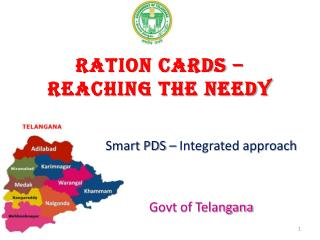 Ration cards � Reaching the needy