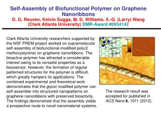 The research result was accepted for published in  ACS Nano  6 , 1011 (2012).