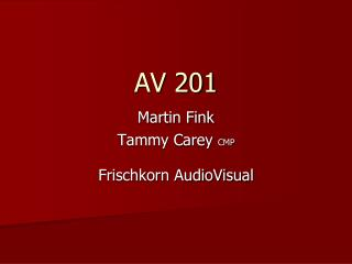 AV 201