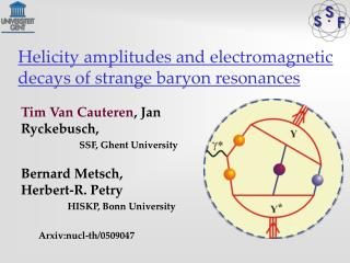 Helicity amplitudes and electromagnetic decays of strange baryon resonances