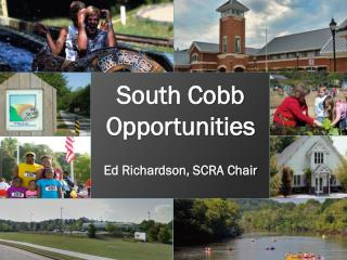 South Cobb Opportunities Ed Richardson, SCRA Chair