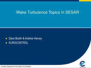 Wake Turbulence Topics in SESAR