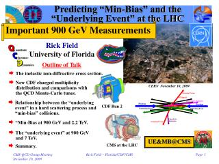 "Predicting ""Min-Bias"" and the  ""Underlying Event"" at the LHC"