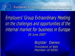 Employers' Group Extraordinary Meeting