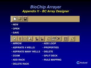 BioChip Arrayer Appendix I1 - BC Array Designer