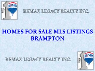 Homes for sale MLS Listings Brampton