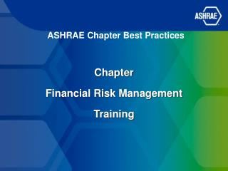 ASHRAE Chapter Best Practices