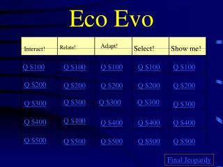 Eco Evo