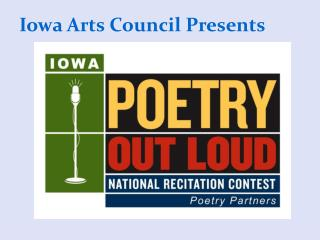 Iowa Arts Council Presents